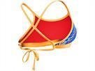 TYR Sassari Schwimmbikini Tieback Top + Bikini Bottom orange - 36 royal/yellow