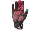 Castelli Scalda Pro Glove Handschuh - L red/black
