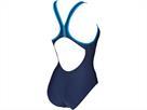 Arena Smoothness Badeanzug Swim Pro Back, Classic Bra - 36 navy/pix blue