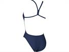 Arena Solid High Badeanzug navy/white Lighttech Back - 34 navy/white