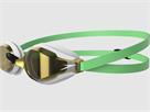 Speedo Speedsocket 2 Mirror Schwimmbrille green glow/white/gold