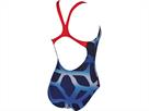 Arena Spider Badeanzug Swim Pro Back - 36 navy/red