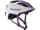 Scott Spunto Junior 2020 Helm - Onesize white/purple
