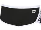 Arena Team Stripe Low Waist Badehose - 4 black/white