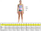 Funkita Inked Ladies Schwimmbikini Tie Down Top + Hipster Brief - 40 (14)