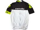 Endura Cervelo Race Jersey Men Trikot - XXL black/yellow fluo/white
