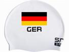 Smit Sport Soft Silikon Badekappe Deutschland - white