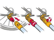 Weber Kupplung Modell E Achsmontage