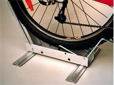"""Schlauch Fahrradpräsenter für Räder von 20-28"""" mit Satz Füßen"""