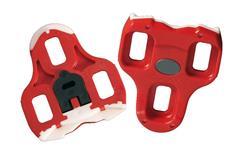 Look KeO ARC Pedalplatten rot mit Tefloneinsatz