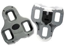 Look KeO ARC Pedalplatten grau mit Tefloneinsatz
