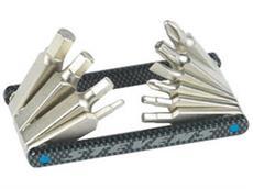 Stevens 10 Multi-Tool Carbon Miniwerkzeug