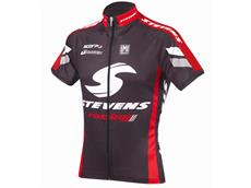 Stevens Carbon Racing Red Trikot Kurzarm