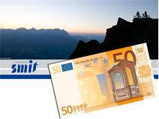 Beispiel Wertguschein - 50 Euro - Motiv 2