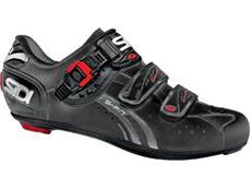 SIDI Genius 5 Fit Carbon Mega Rennrad Schuh - 43,5 schwarz/schwarz