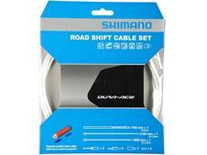 Shimano Dura Ace Polymer Schaltkabel-Set weiß