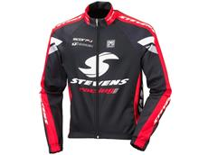 Stevens Carbon Racing Red Thermo Winterjacke