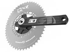 Rotor 3D30 Kurbelsatz 110er Lochkreis