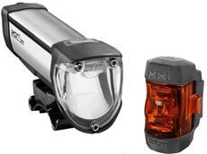B&M IXON  Core + IXXI LED-Batterieleuchtenset inkl. Ladegerät