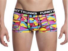 Funky Trunks Colour Frame Boys Underwear Trunks