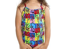 Funkita Slippery Snakes Toddler Girls Badeanzug