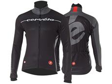 Castelli Cervelo Windstopper Winterjacke - L black/anthracite