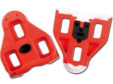 Look Delta Cleat Pedalplatten rot mit Tefloneinsatz