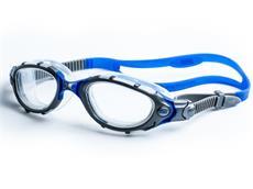 Zoggs Predator Flex Schwimmbrille silver-clear-blue/clear