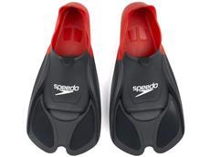 Speedo Biofuse Fin Schwimmflossen red/grey
