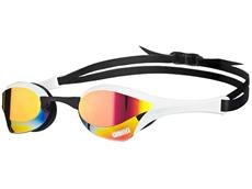 Arena Cobra Ultra Mirror Schwimmbrille - red-revo/white/black