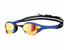 Arena Cobra Ultra Mirror Schwimmbrille - yellow revo/blue/black