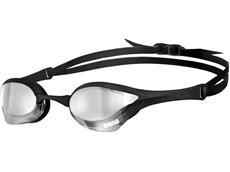 Arena Cobra Ultra Mirror Schwimmbrille - silver/black/black