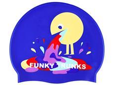 Funky Trunks Hurley Silikon Badekappe