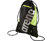 Arena Fast Sackpack Tasche - black/fluo yellow