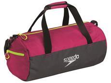 Speedo Duffel Bag Tasche 30 Liter - magenta/grey/fluo yellow