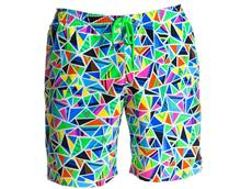 Funky Trunks Crazy Cracks Mens Badeshort Long Johnny Short
