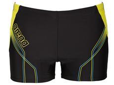 Arena Cruzeiro Short Badehose - 7 black/turquoise/soft green