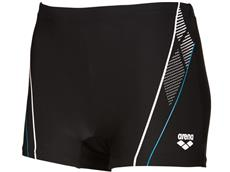 Arena Skid Short Badehose - 4 black/turquoise/white