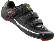 Mavic Ksyrium Elite II Rennrad Schuh - 45 1/3 black/red
