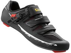 Mavic Ksyrium Elite II Rennrad Schuh - 48 black/red