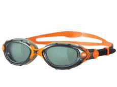 Zoggs Predator Flex Schwimmbrille black-smoke-orange/smoke tinted