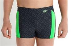 Speedo Monogram Allover Aquashort Jungen Badehose Endurance10