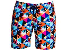 Funky Trunks Summer Snaps Mens Badeshort Long Johnny Short - M