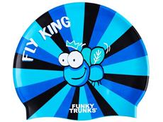 Funky Trunks Fly King Silikon Badekappe