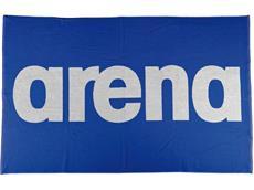 Arena Handy Baumwoll Handtuch 150x100 cm - royal/white