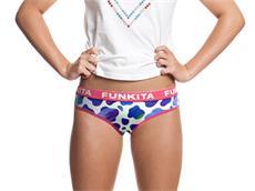 Funkita Blue Moo Girls Underwear Brief