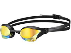 Arena Cobra Core Mirror Schwimmbrille - yellow revo/black/black