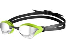 Arena Cobra Core Mirror Schwimmbrille - silver/green/black