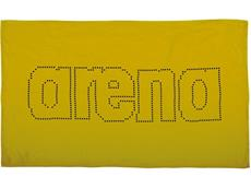 Arena Haiti Microfaser Handtuch 100x60 cm - yellow star/black
