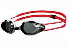 Arena Tracks Junior Schwimmbrille - white-red/smoke
